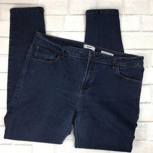 Kenzie Effortless Ankle Mid Rise Skinny Jeans 12